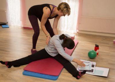 Pilates class in Kingsteignton Newton Abbot