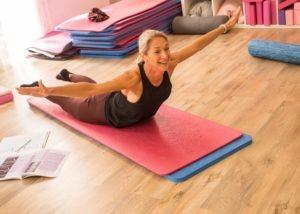 Pilates Teacher Training - The swan